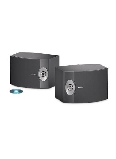Bose 301 Direct Reflecting Siyah Hoparlör Sistemi Siyah